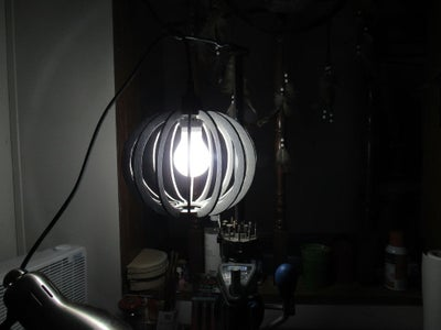 Dimmable Pendant Lamp