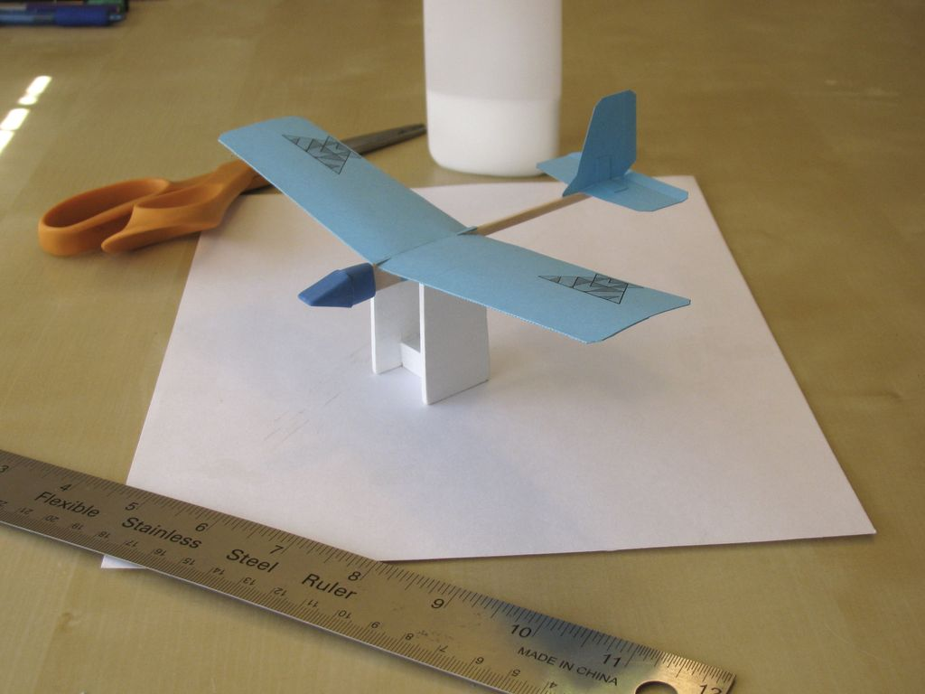 Picture of Adjust Wing As Glue Dries