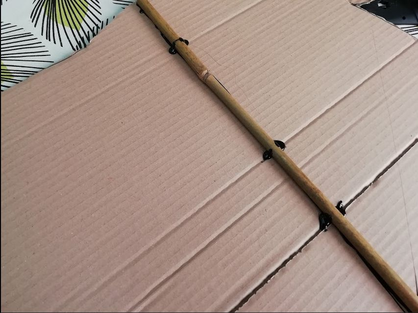 Picture of Making the Wings- Part 2- Using Bamboo to Make Sure the Whole Thing Doesn't Implode