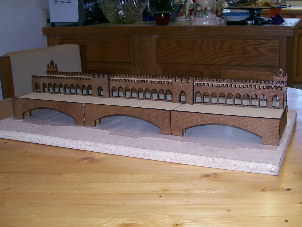 Picture of Laser Cut Gingerbread Bridge