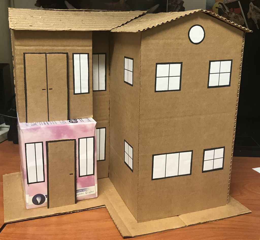 Picture of Build a Model Cardboard House