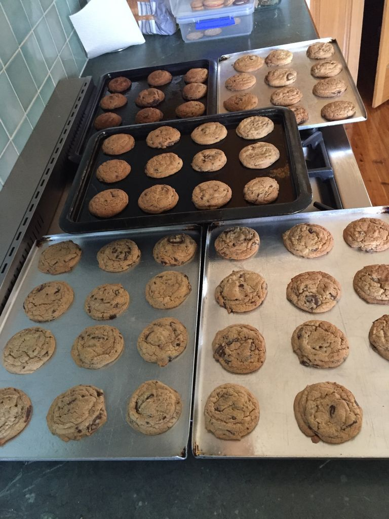 Picture of Baking the Cookies