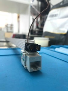 LED Fixtures-Data Connection With CAT6 & RJ45