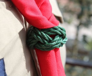 """Scouts Woggle """"Turk's Head Knot"""""""