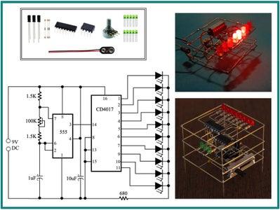Freeform LED Chaser