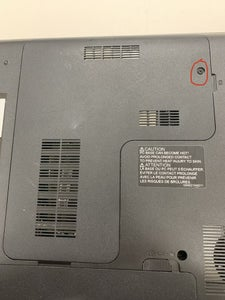 Remove the Panel Covering the Hard Disk Drive