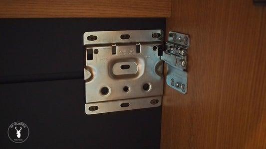Floating Cabinet Hardware