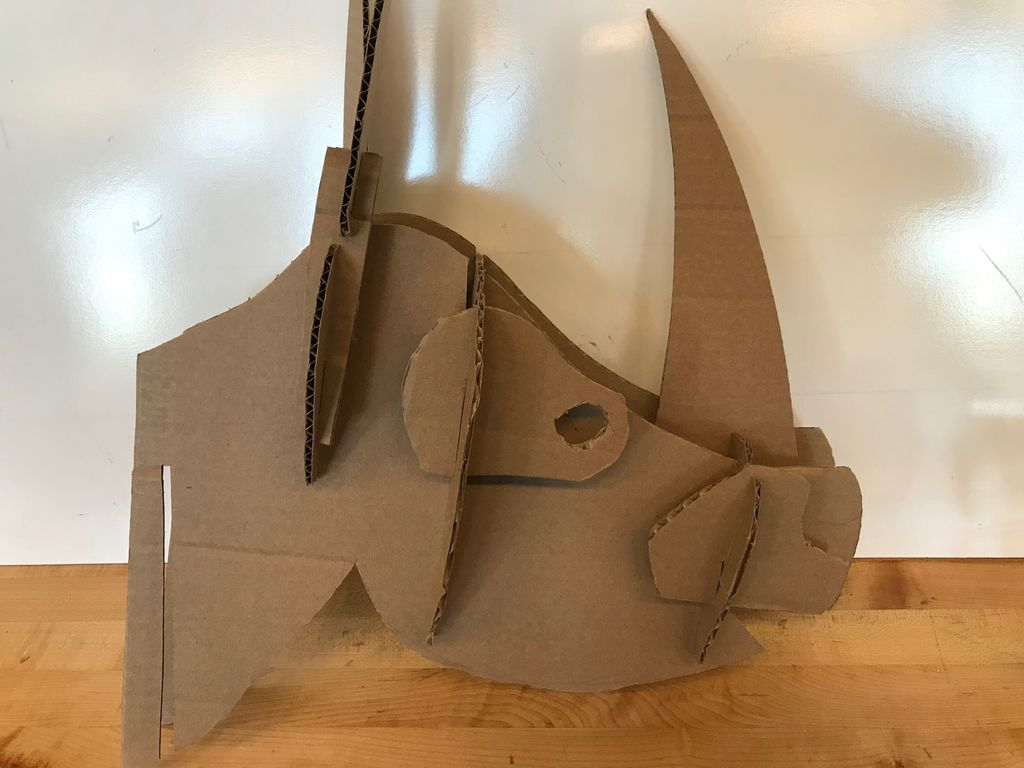 Picture of Step 7:  Congratulations, You Just Made a DOPE Rhinoceros