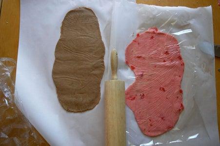 Cut & Roll the Cherry Dough Strip
