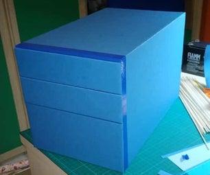 纸板、纸和胶带抽屉