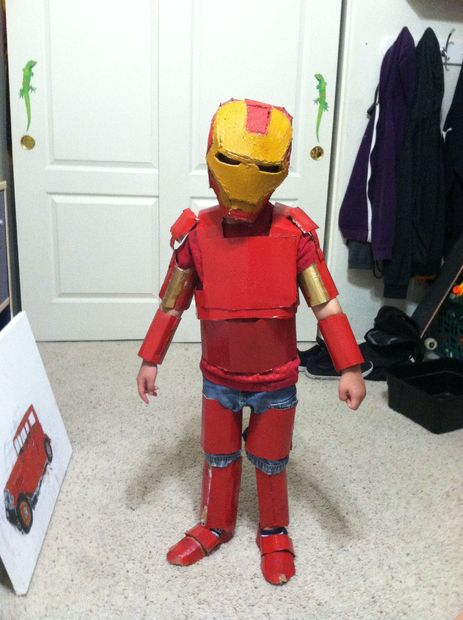 Iron Man Armor for My Little Brother