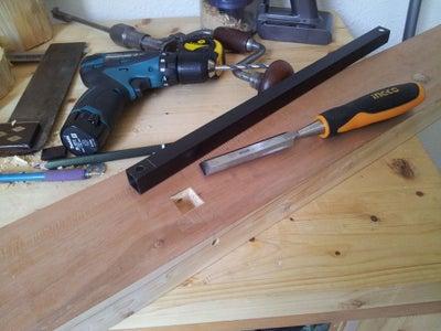 Build the Leg Vise (moxon Style)