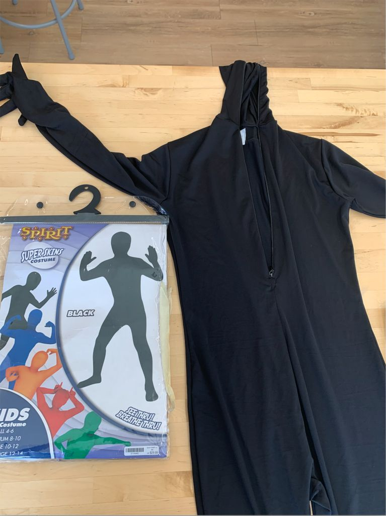 Picture of DIY LED Glow in the Dark Stickman Costume