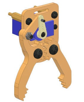 Picture of Making the Gripper Claw Assembly
