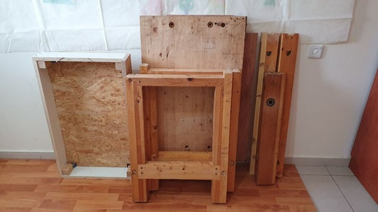 DIY Portable Workbench (knock-down Design) With a Leg Vise and Storage - From Scraps and Simple Tools!