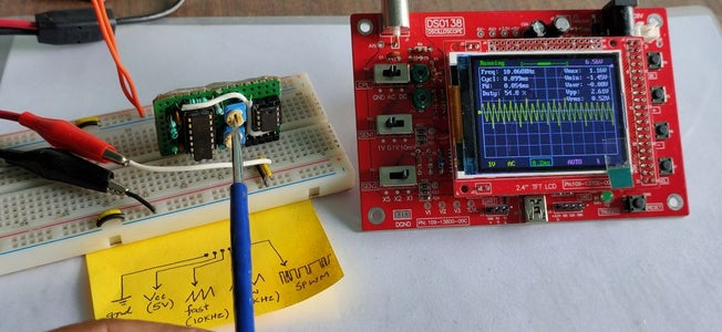 SPWM Generator Module (without Using Microcontroller)