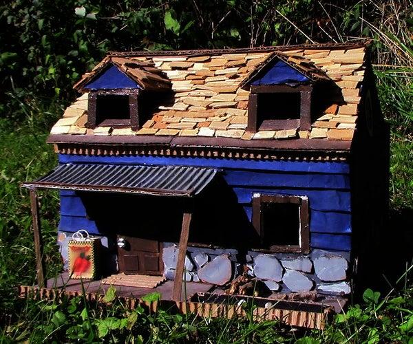 Cardboard Cabin