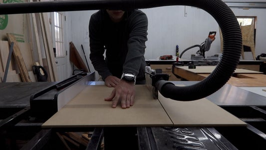 Cut Plywood Down to Width and Length