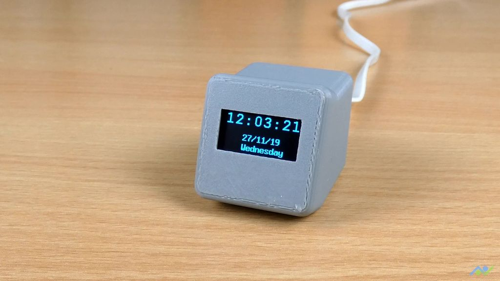 Picture of Network Time Digital Clock Using the ESP8266