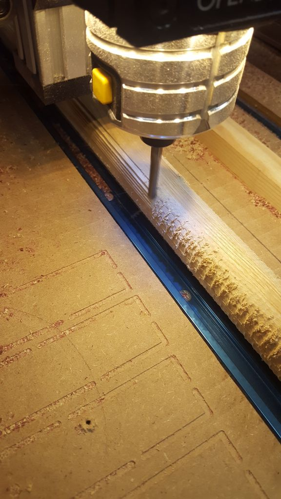 Picture of Cut Out the Paddle Using CNC