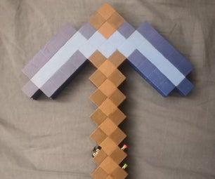 DIY的Minecraft镐控制器