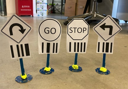 Make and Test Your Road Signs.