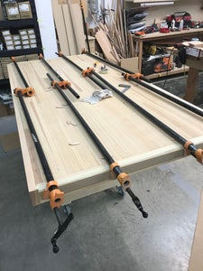 Prepping the Table Top