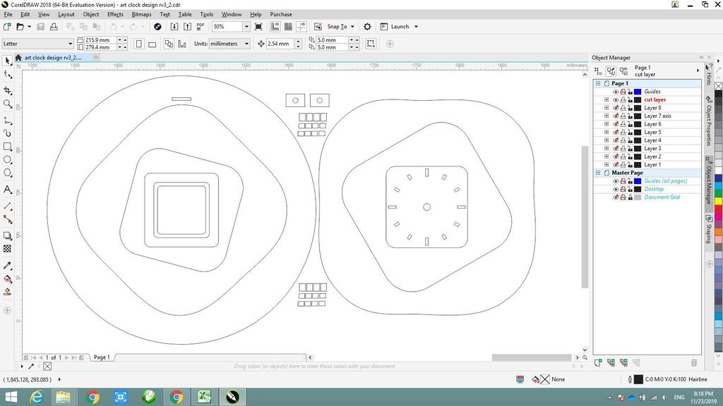 Picture of Make Design With Corel Draw Software