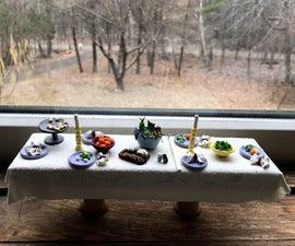Miniature Table Set
