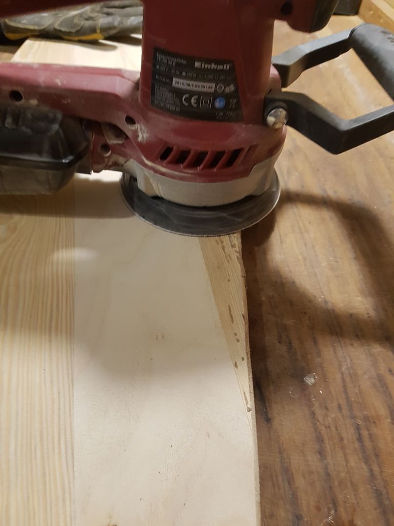 Picture of More Sanding