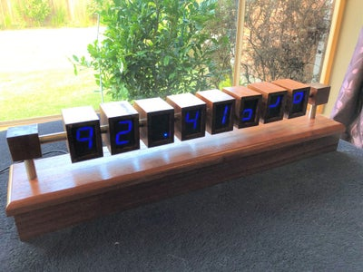 WiFi 7 Segment LED Clock