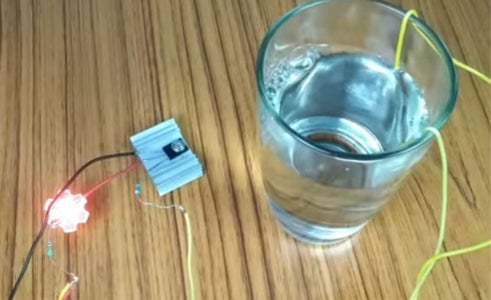 Water Level Switch Using D882