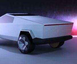 Tesla Cybertruck DIY Made of Paper! :)