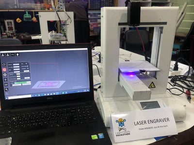 Hacking Old IdeaWerk 3D Printer Into Laser Engraver