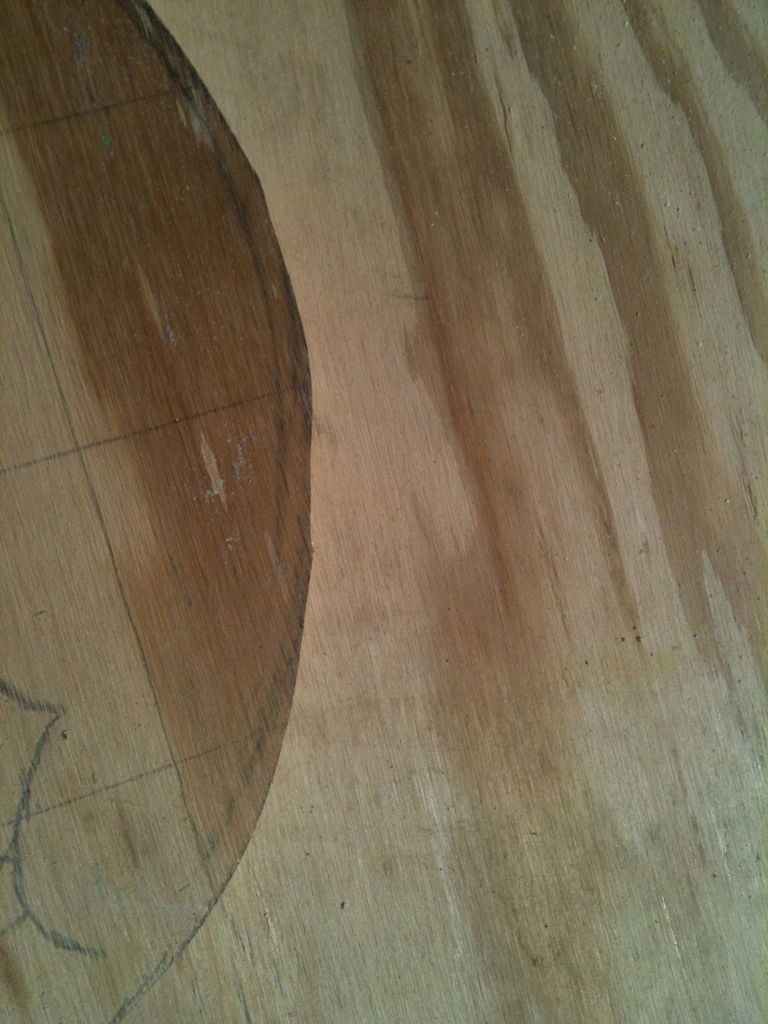 Picture of Cutting and Sanding
