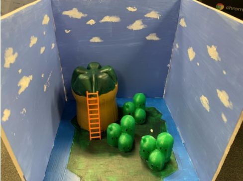 Picture of  Enjoy Your Brand New Mock-up Model of a Super Mario World Island!