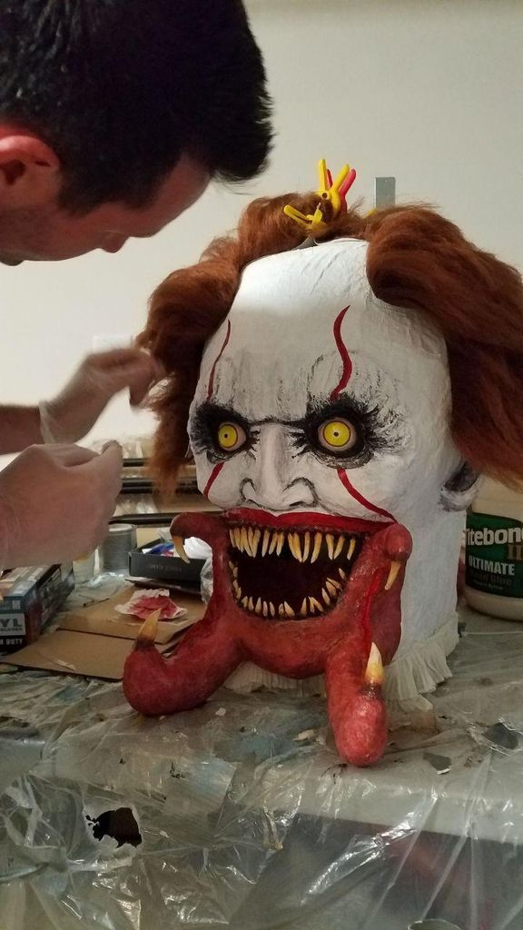 Picture of Painting the Face and Adding Hair