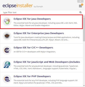 Installing Eclipse