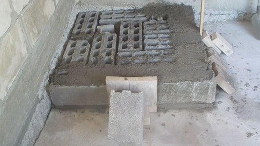 Concrete Foundation.