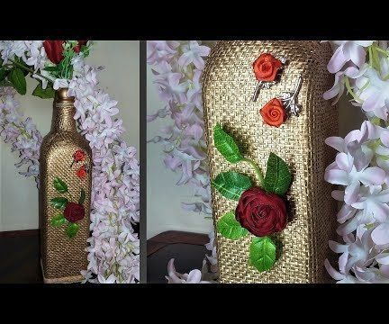 How to Decorate Glass Bottle