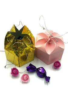 Caja Elegante De Cierre Estrella Con Regalos – Tutorial Con Fotos Y Video