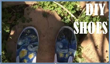 Picture of !!!!Artsy DIY Fashionable Shoes!!!!!