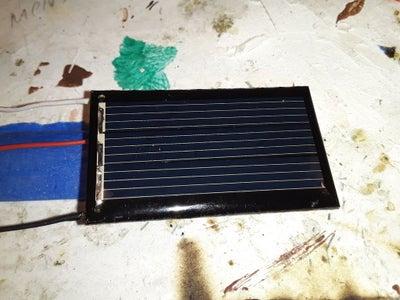 Micro Solar Power Bank.