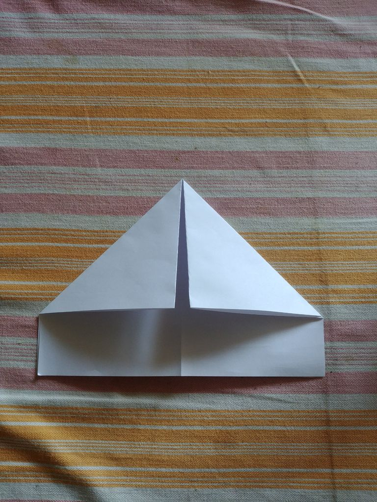 Picture of Fold the Top Corners Towards the Middle.