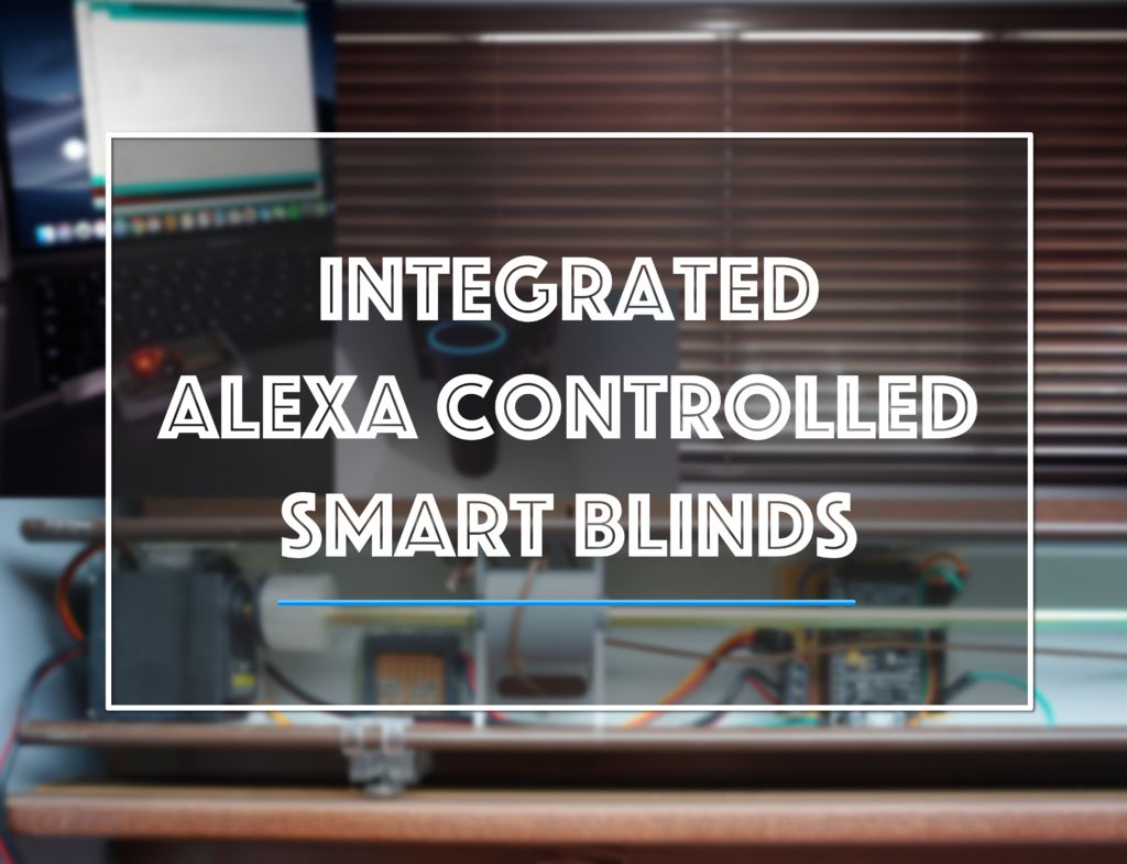 Picture of Integrated Alexa Controlled Smart Blinds