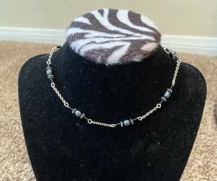 Simple Chain and Beaded Choker
