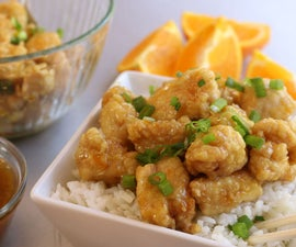 How to Make Orange Chicken   Better Than Take Out