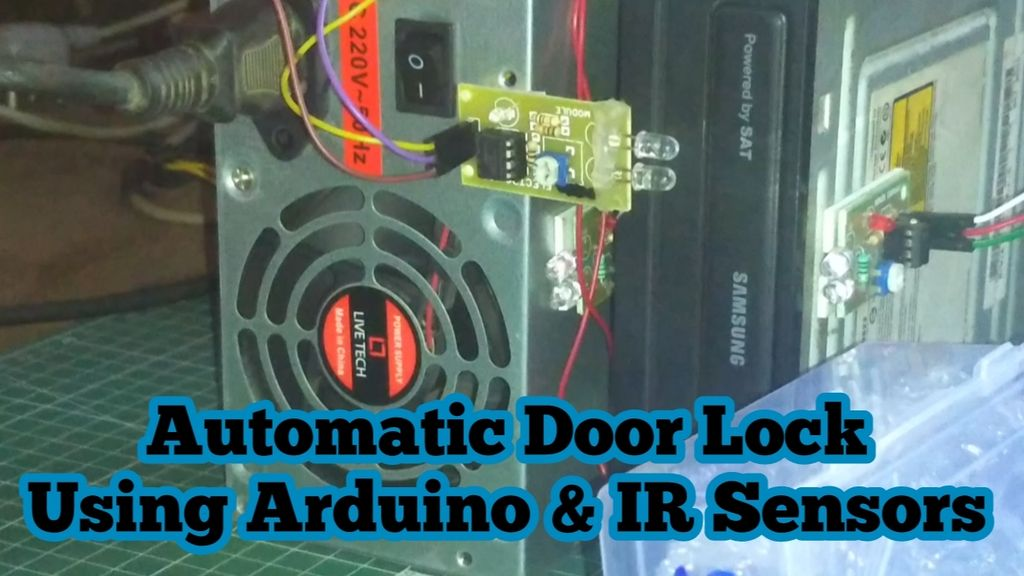 Picture of Automatic Door Lock Using Arduino and IR Sensors