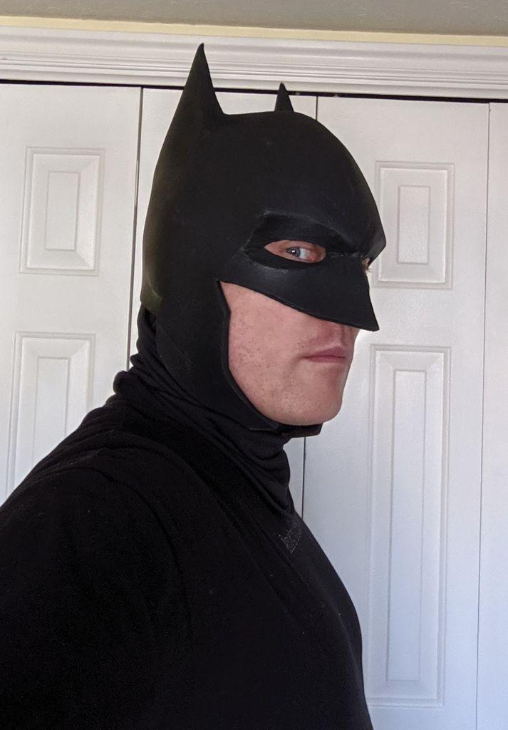 Picture of Foam Batman Mask