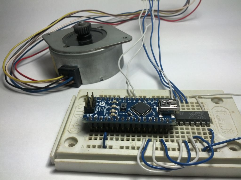 Picture of Stepper Motor Control With an Arduino